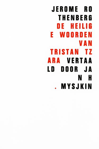 De heilige woorden van Tristan Tzara