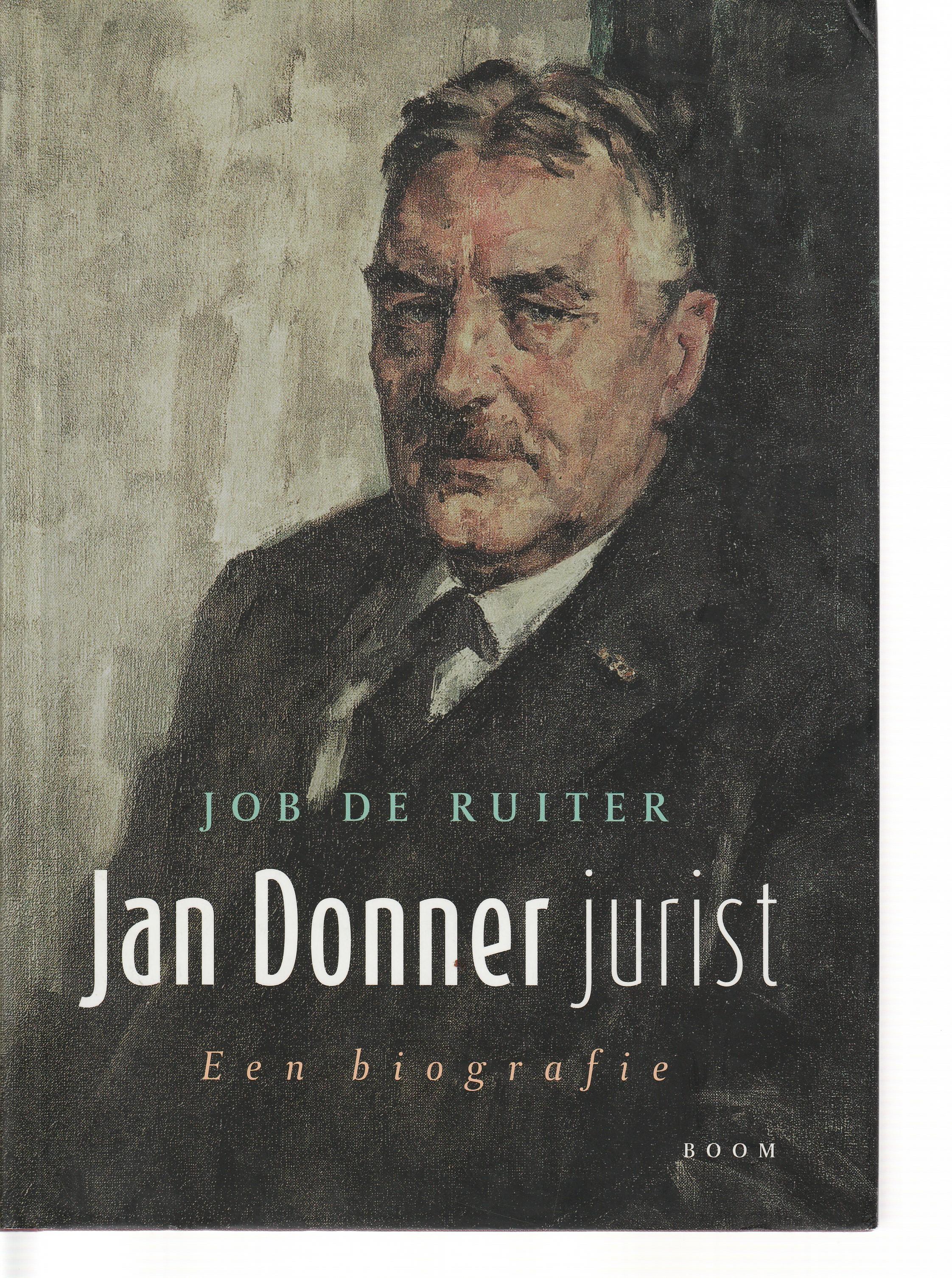 Jan Donner, jurist - Een biografie