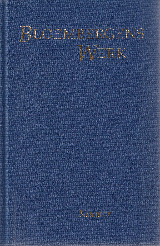 Bloembergens Werk