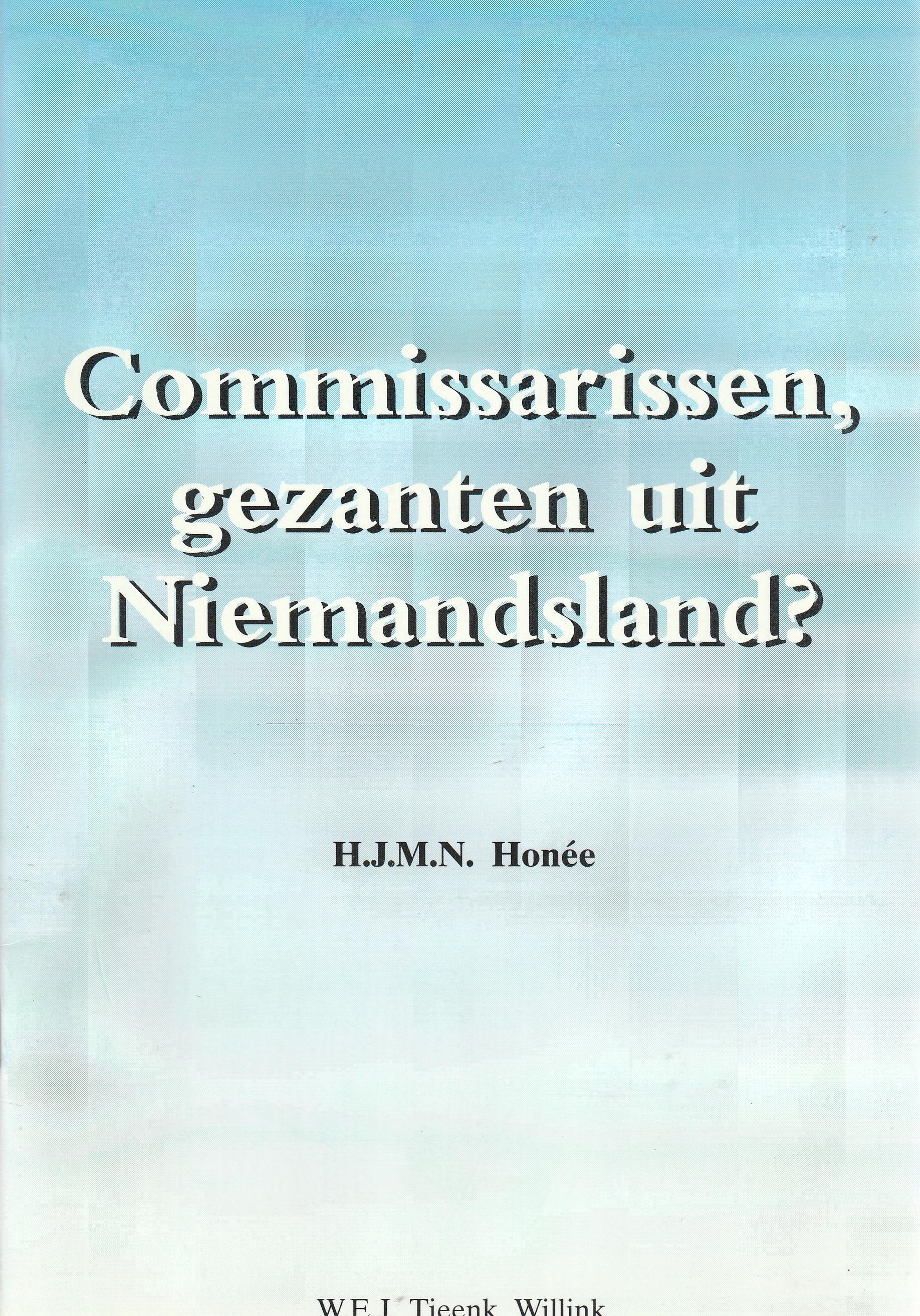 Commissarissen, gezanten uit Niemandsland? - Rede 1996