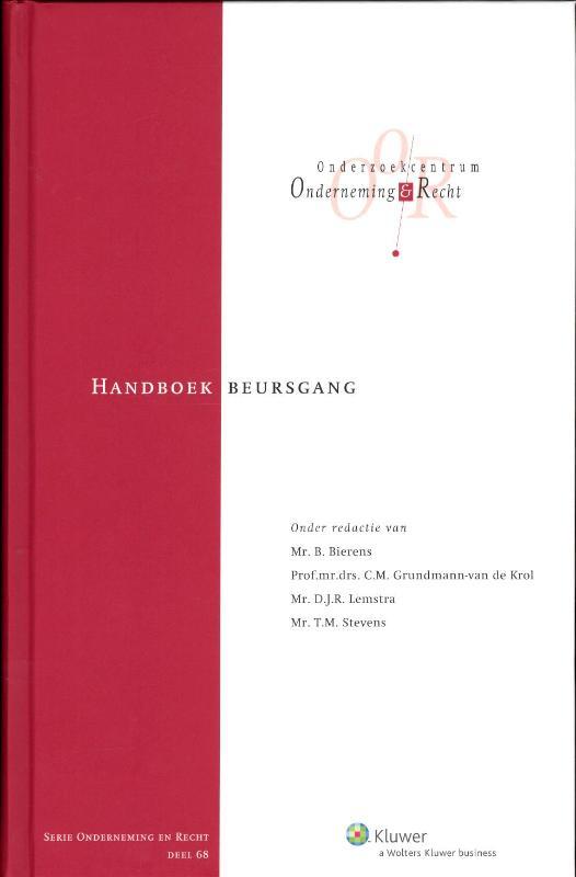 Handboek beursgang