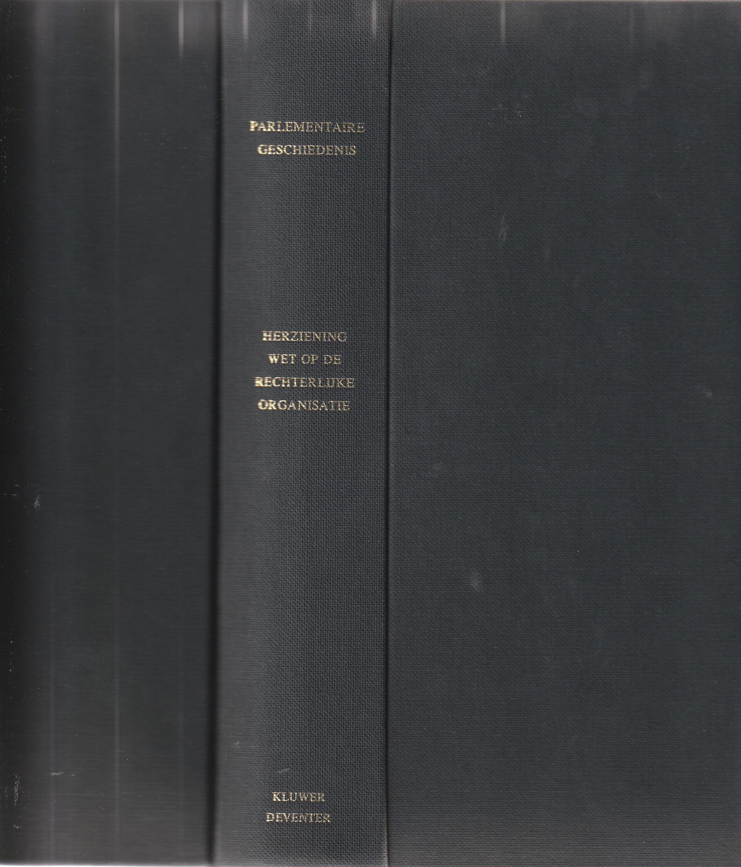 Parlementaire geschiedenis herziening van de Wet op de rechterlijke organisatie