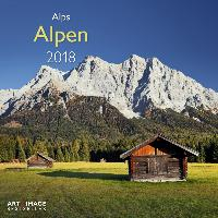 Alpen 2018 Broschürenkalender