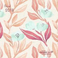 Floral 2018 GreenLine Mini-Broschürenkalender