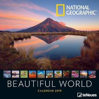 National Geographic Beautiful World 2019 Broschürenkalender