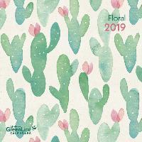 Floral 2019 GreenLine Broschürenkalender