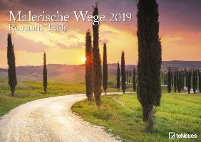 Malerische Wege 2019 Wandkalender