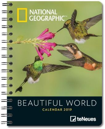 National Geographic Beautiful World 2019 Diary