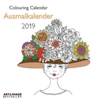 Ausmalkalender 2019 Broschürenkalender