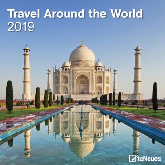 Travel Around the World 2019 Broschürenkalender