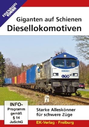 Diesellokomotiven Giganten Auf Schienen Dvd