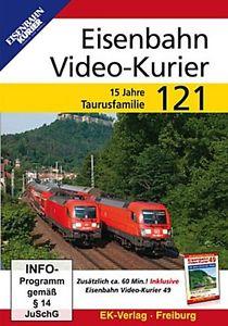 Eisenbahn Video-Kurier 121 - 15 Jahre Taurus-Familie