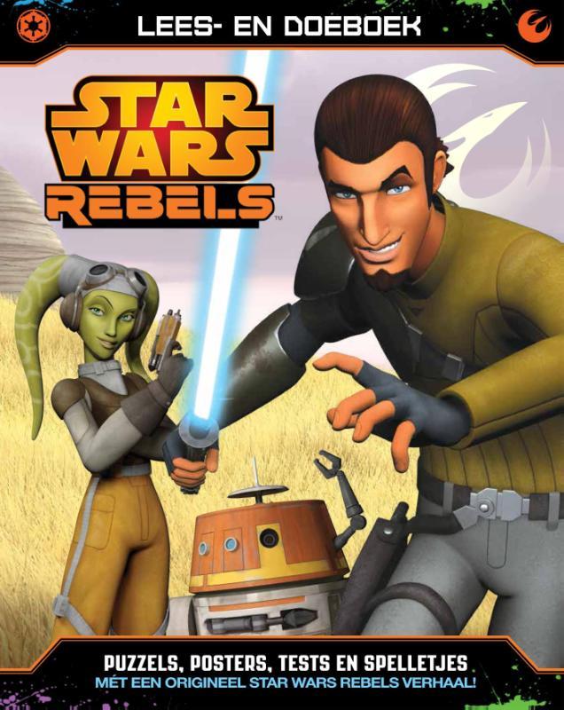 Star Wars Rebels lees- en doeboek