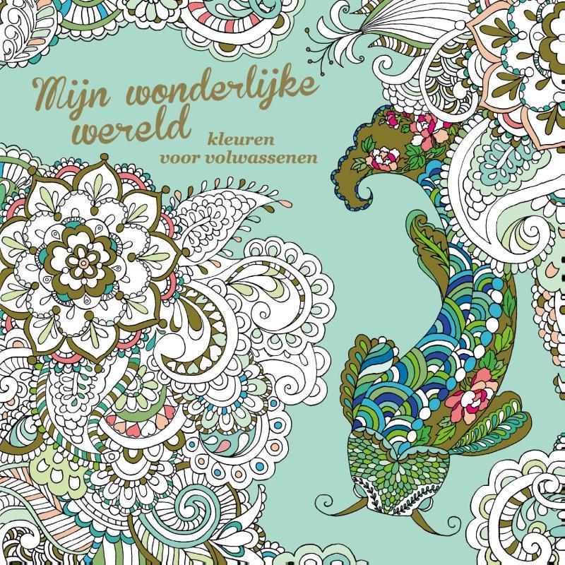 Mijn Wonderlijke wereld- kleurboek voor Volwassenen