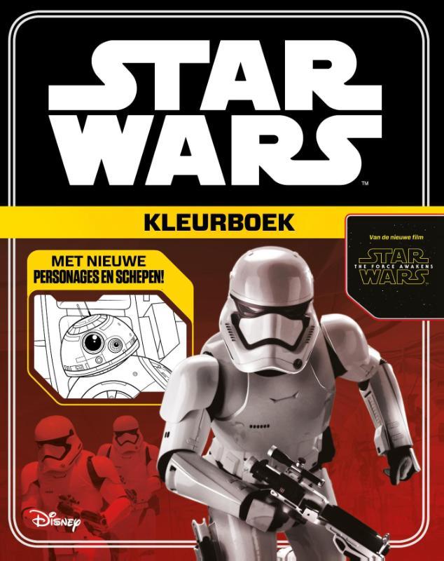 Star Wars Kleurboek