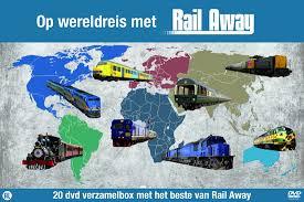Op Wereldreis met Rail Away. In prijs verlaagd!! Van € 69.99 voor € 35.00