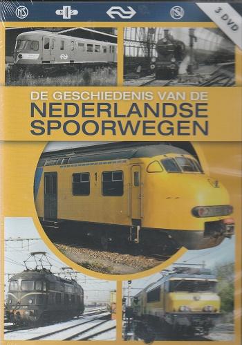 Geschiedenis Nederlandse Spoorwegen 3 dvd box