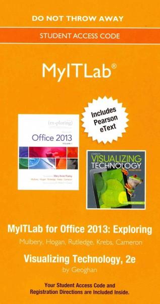 Exploring Visualizing Technology MyITLab Access Code