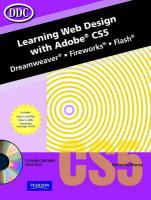 Learning Web Design With Adobe CS5