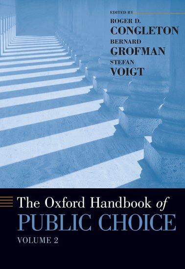 The Oxford Handbook of Public Choice, Volume 2