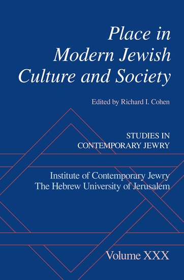 Place in Modern Jewish Culture and Society