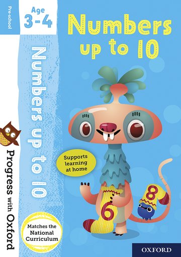 Progress with Oxford: Numbers up to 10 Age 3-4