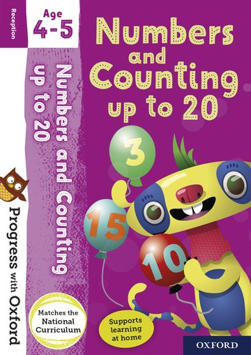 Progress with Oxford: Numbers and Counting up to 20 Age 4-5