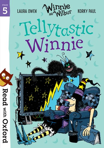 Read with Oxford: Stage 5: Winnie and Wilbur: Tellytastic Winnie