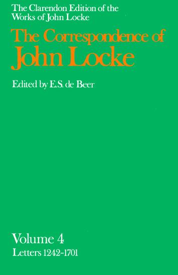 John Locke: Correspondence