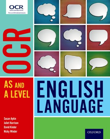 OCR A Level English Language: Student Book