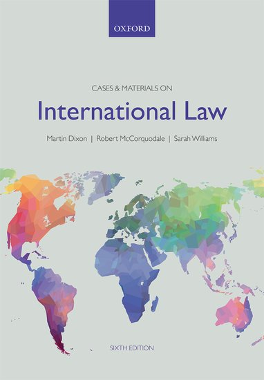 Cases & Materials on International Law, 6th. ed.