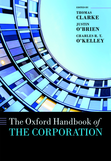 The Oxford Handbook of the Corporation