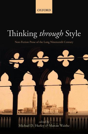 Thinking Through Style