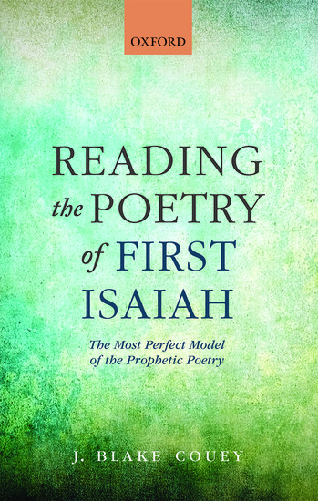 Reading the Poetry of First Isaiah