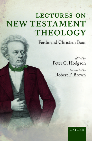 Lectures on New Testament Theology
