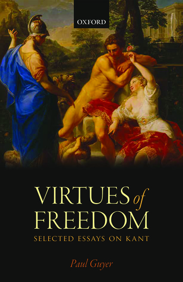 The Virtues of Freedom