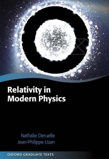 Relativity in Modern Physics