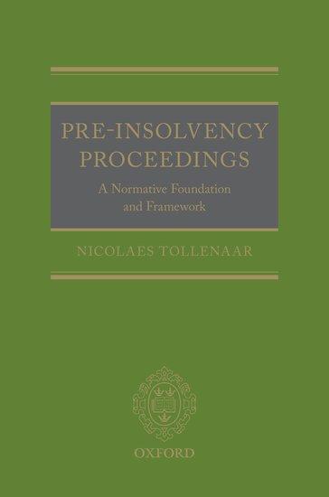 Pre-Insolvency Proceedings