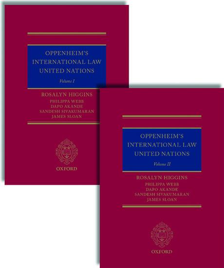 Oppenheim's International Law: United Nations