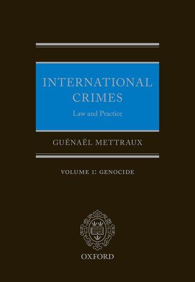 Volume I: Genocide