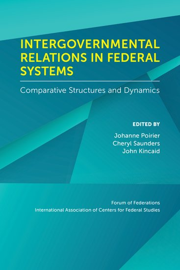 Intergovernmental Relations in Federal Systems