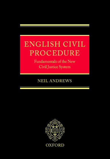 English Civil Procedure