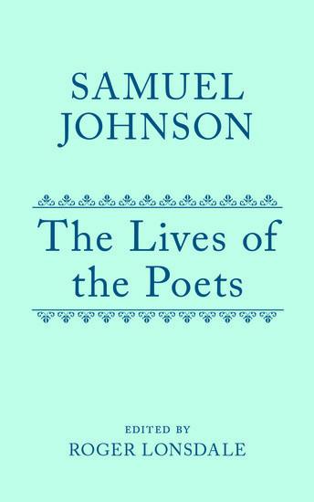 Samuel Johnson's Lives of the Poets