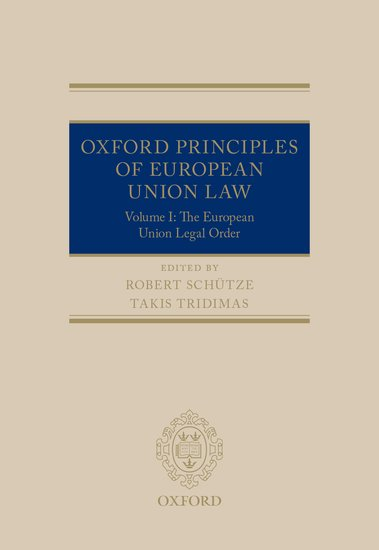 Oxford Principles of European Union Law