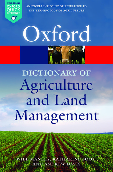 Dictionary Of Agriculture & Land Mana