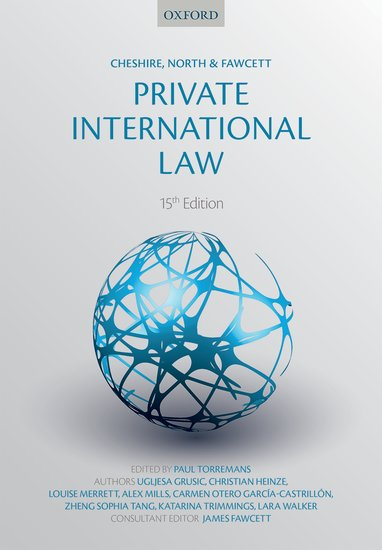 Cheshire, North & Fawcett: Private International Law