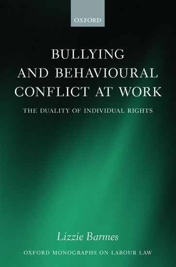 Bullying and Behavioural Conflict at Work
