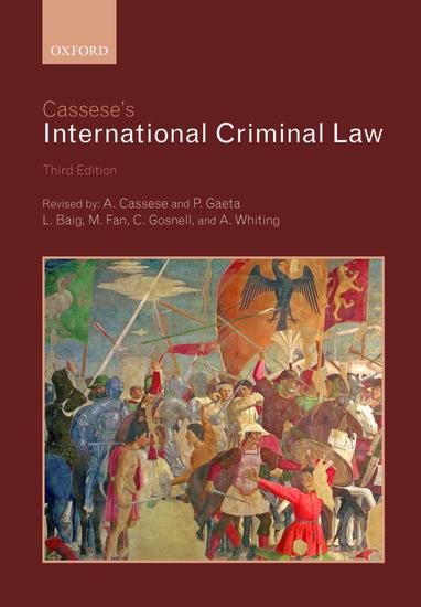 Cassese's International Criminal Law