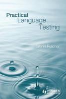 Practical Language Testing