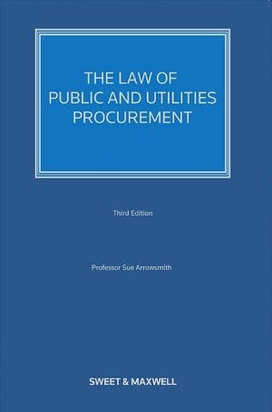 Law of Public and Utilities Procurement - Volume 2